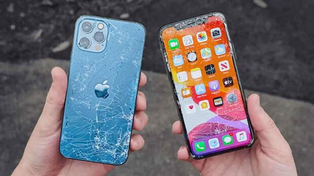 Видео: керамическое стекло iPhone 12 успешно прошло ряд испытаний на прочность