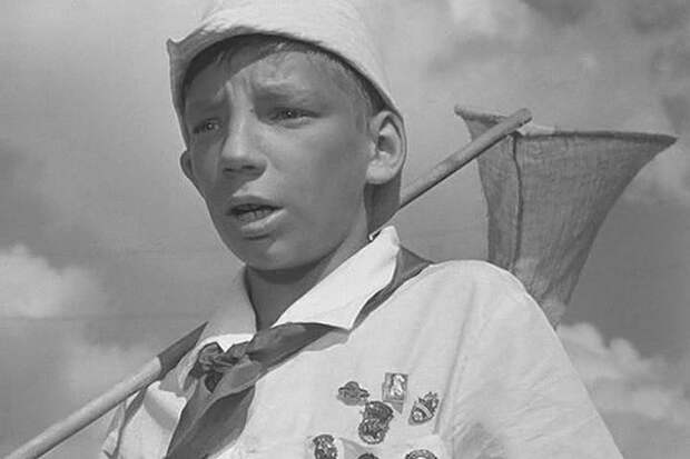 В истории кино он остался как мальчик с сачком