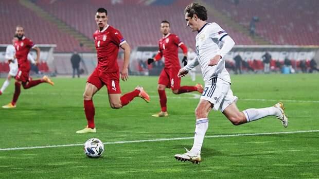 Жирков стал 5-м футболистом, сыгравшим 100 матчей за сборную России