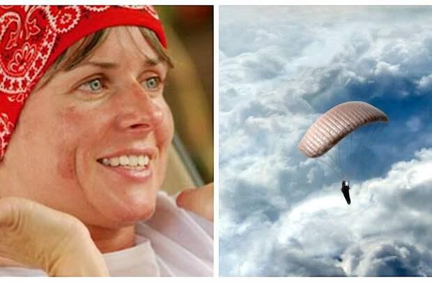 История спасения девушки: параплан унес ее на высоту, где летают лишь самолеты