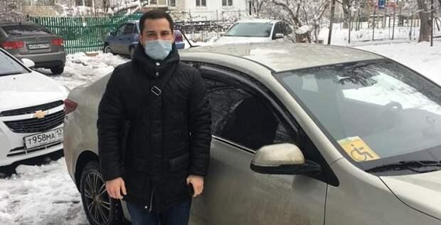 В Краснодаре депутат Госдумы обеспечил автомобиль для помощи медикам