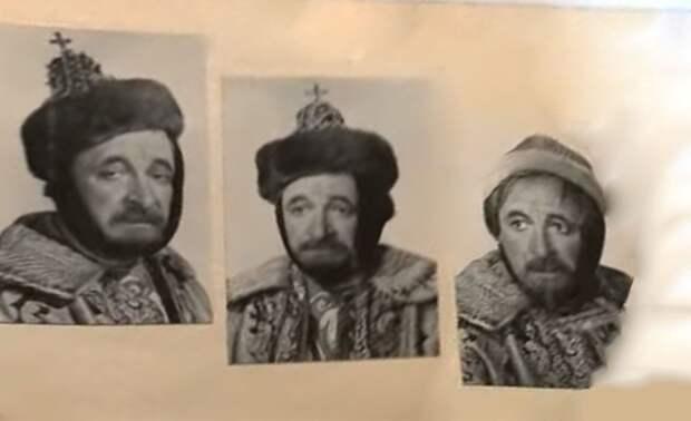 """""""Иван Васильевич меняет профессию"""". Фотопробы к фильму"""