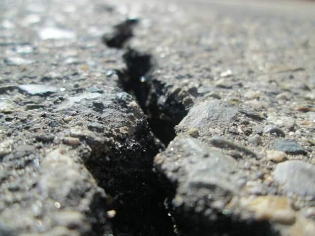В Иркутской области произошло землетрясение магнитудой 5,9 балла