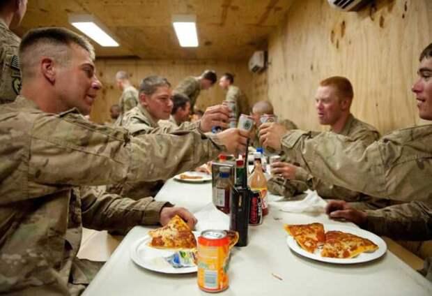 Американские военные перестали кормить Литву