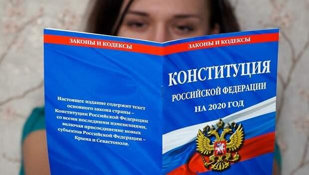 Воробьев объяснил, почему важно проголосовать по поправкам в Конституцию