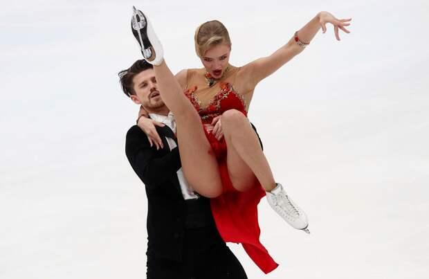 Видео произвольного танца Степановой и Букина на чемпионате мира по фигурному катанию в Стокгольме