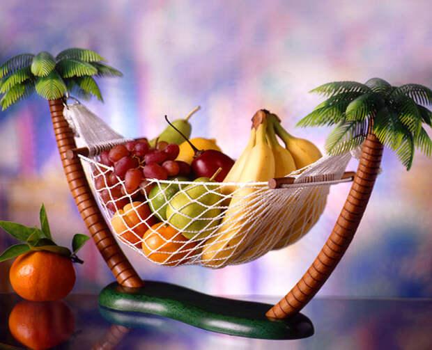 Тарелка-гамак для фруктов