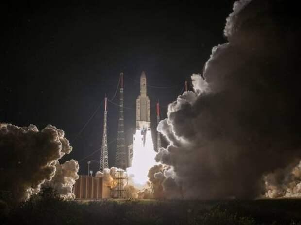 Легкая ракета Vega стартует с космодрома Куру 29 апреля