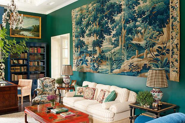 Русский стиль в интерьере квартиры и частного дома (105 фото)