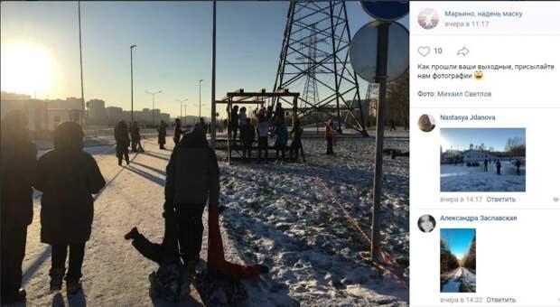 Фото дня: папы в Марьине не шутят!