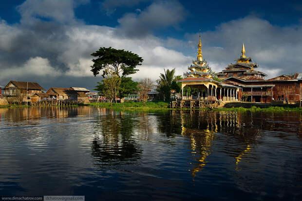 Бирма. Обычный день на озере Инле