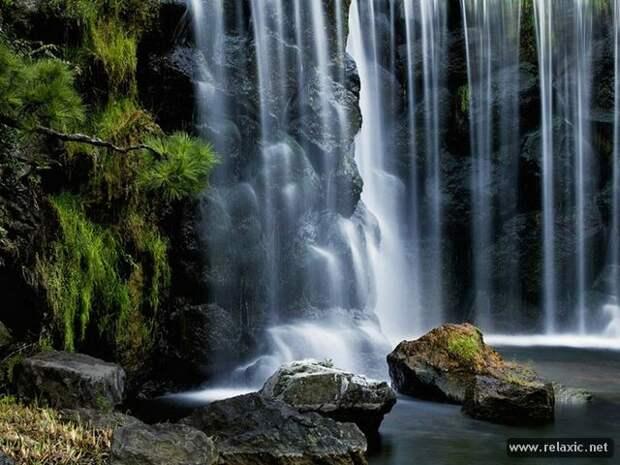 Водопады (49 фото)