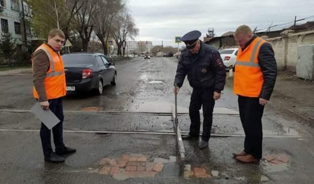 ГИБДД выявила нарушения правил содержания железнодорожных переездов вОренбурге