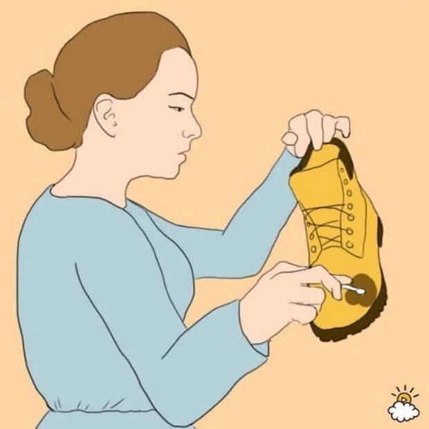 Об этих 14 обувных лайфхаков, о которых, даже золушка не знала