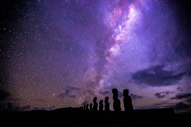 Млечный Путь. Марш звёзд в космосе