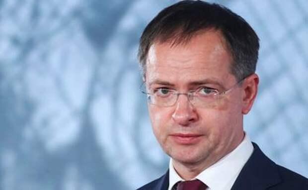 На фото: отставной министр культуры Владимир Мединский