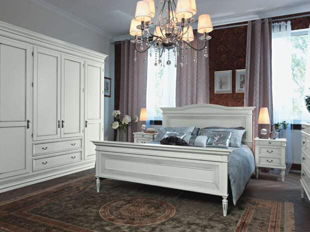 Белая мебель9