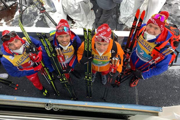 Россияне получили серебро в эстафете чемпионата мира по лыжному спорту