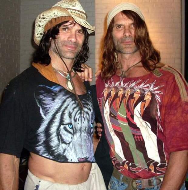 """Актеры фильма """"Няньки"""" - Питер и Дэвид Пол: тогда и сейчас."""