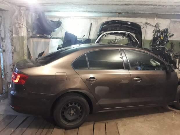 Фольксваген Джетта 6 - также побывала в моём гараже и была разобрана
