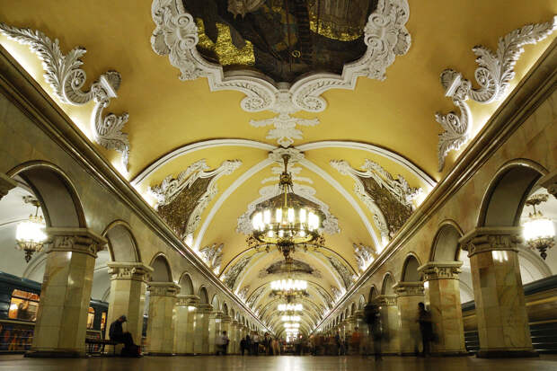 The best Moscow metro stations