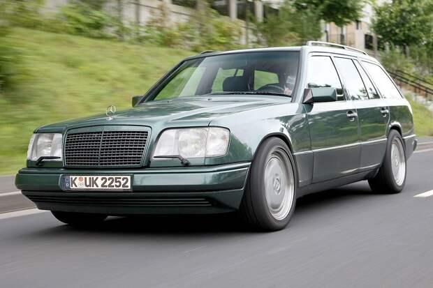 Какими были малоизвестные версии Mercedes-Benz W124