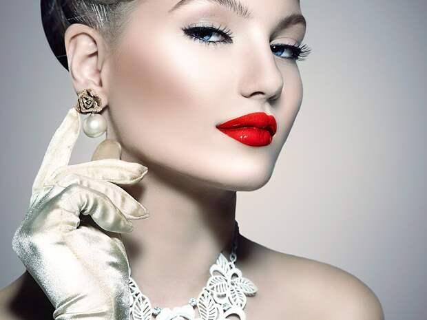 ретро-макияж на выпускной бал