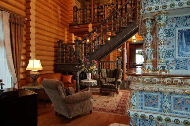 «Берендеево царство»: загородный дом в русском стиле