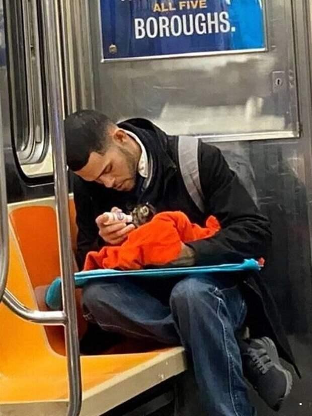 Чудики и не только в метро
