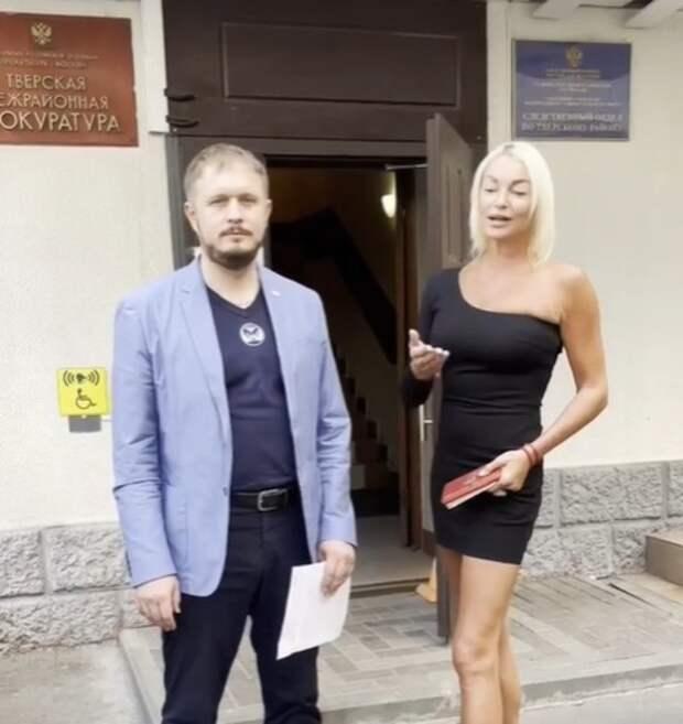 Анастасия Волочкова сообщила о результатах проверки прокуратуры в разбирательстве с ГАБТ