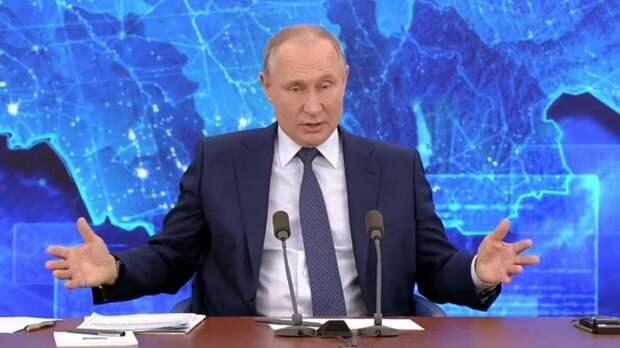 Владимир Путин раскрыл размер своих доходов