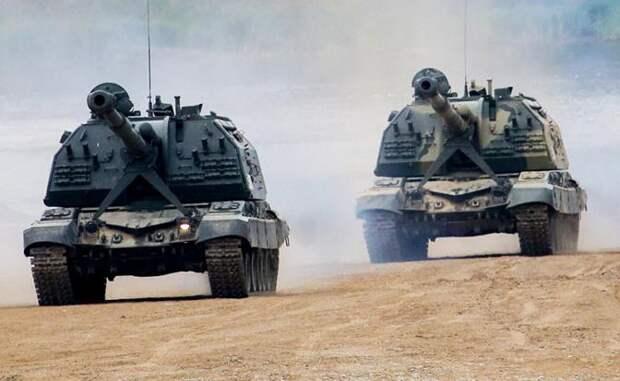 Дорогу на Киев танкам Шойгу расчистят «Акация», «Мста-С» и «Торнадо»