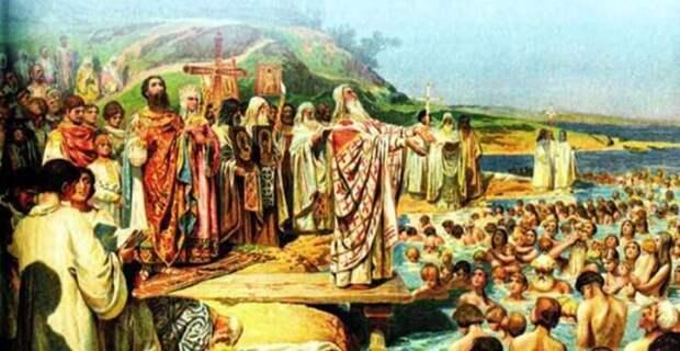 Как Володимир Зеленский Украину крестил