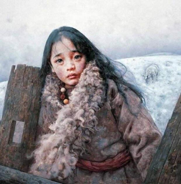 Портреты, которые смотрят прямо в душу   Китайский художник Ай Сюань