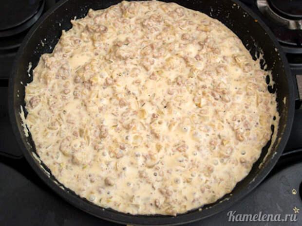 Запеченный лук с мясной начинкой — 9 шаг