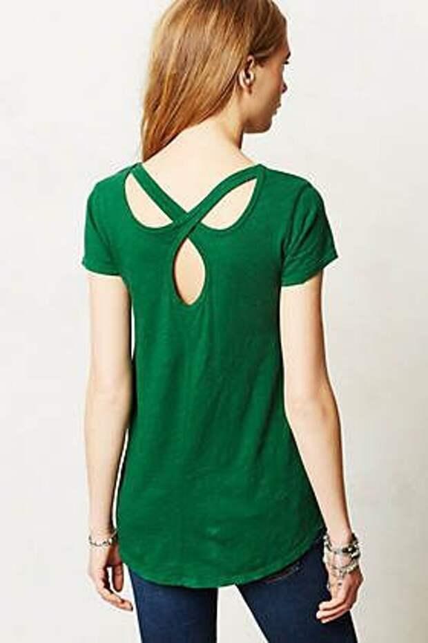 Идея спинки у футболки