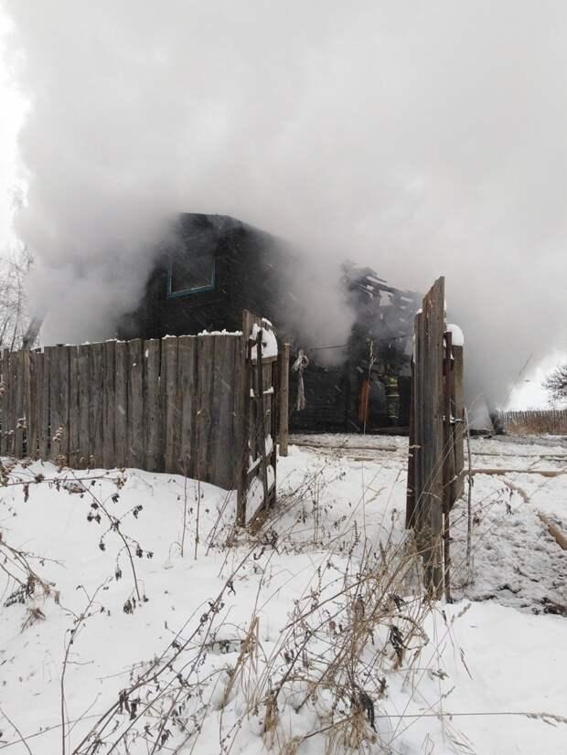 В Воткинском районе начали сбор вещей для пострадавших при пожаре