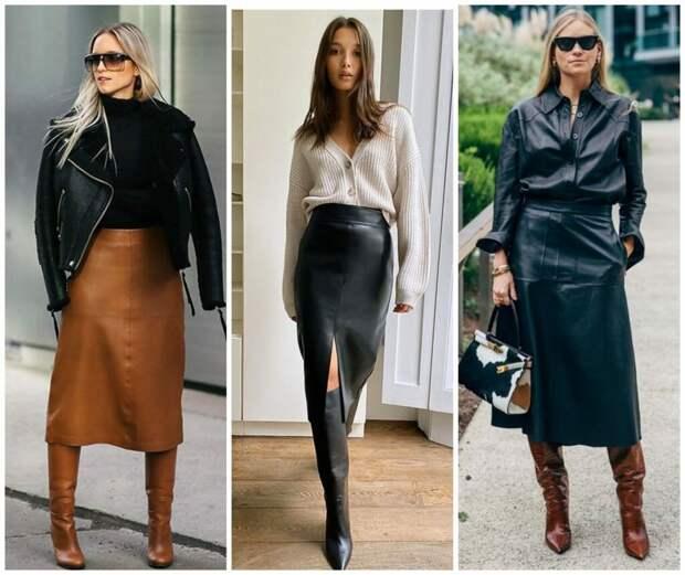 Одежда из кожи: как составить модную капсулу