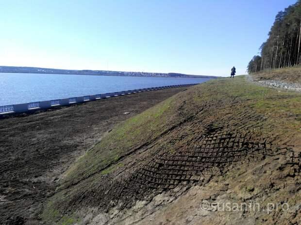После незаконного сброса сточных вод Служба благоустройства Ижевска получила разрешение на пользование водохранилищем