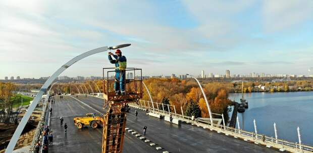 Девять мостов планируется построить вМоскве доконца 2024 года