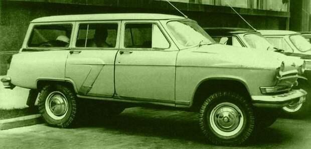 Советские автомобили хрущевского периода (70 фото)