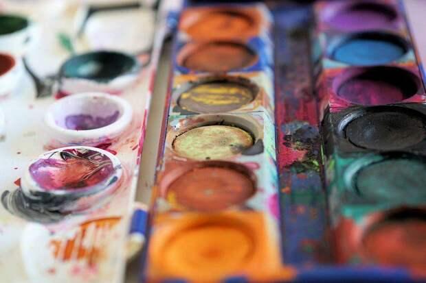 Краски/ Фото pixabay.com
