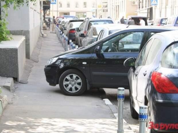 В новой платной зоне между Садовым и ТТК будут укороченные парковки