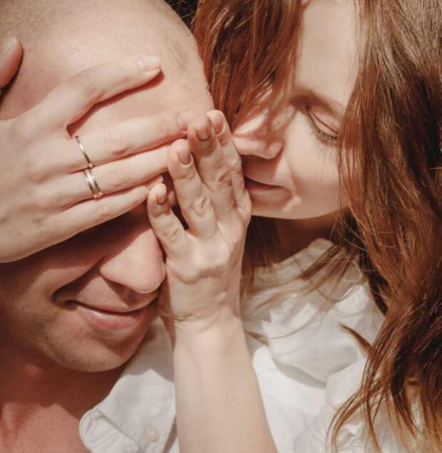 влюблённая пара