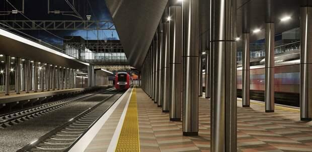 Станцию Апрелевка будущего МЦД-4 реконструируют доконца сентября