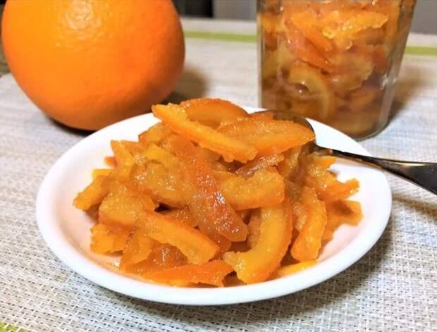 Готовимся к Пасхе! Апельсиновые цукаты в сиропе для куличей