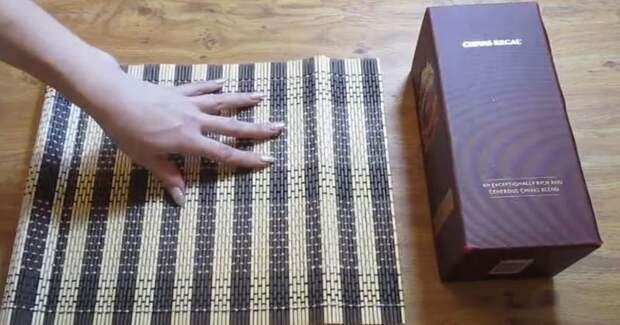 Прежде чем выбрасывать коробку от вина, посмотрите эту идею