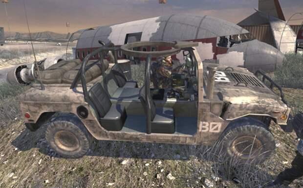 Производитель военных Хаммеров подал в суд на создателей игры Call of Duty