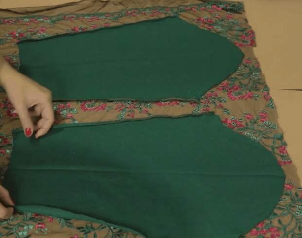 Оригинальная переделка обычного свитера