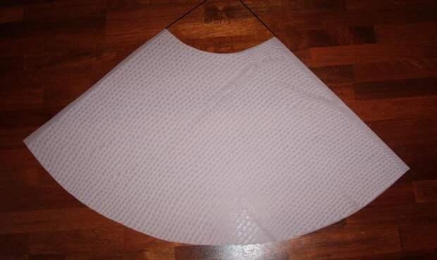 Как сшить юбку-шопенку из фатина